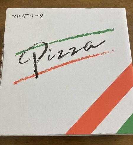 モッチモパスタ ピザの箱