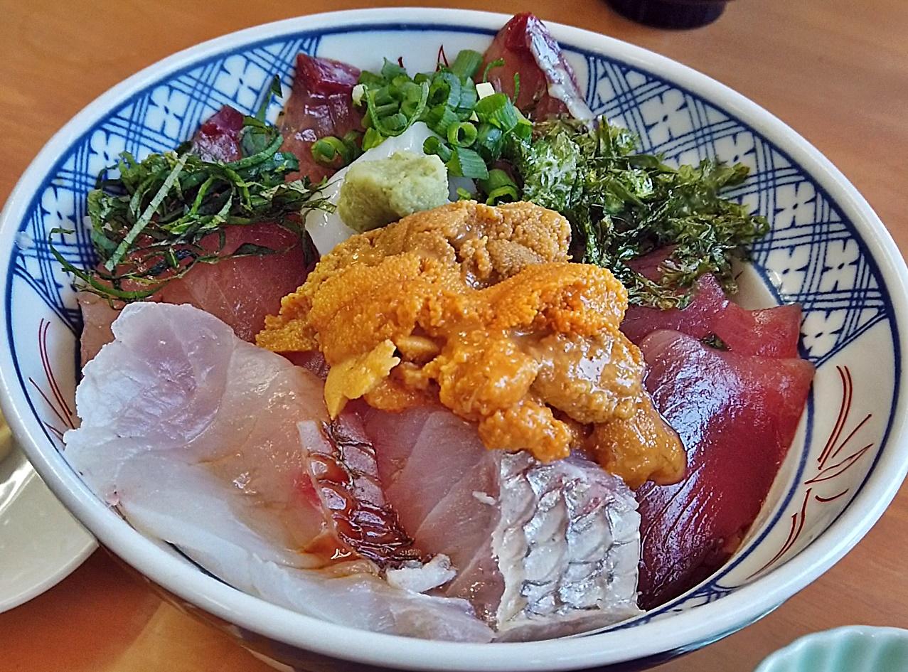 花房 日本海うに丼