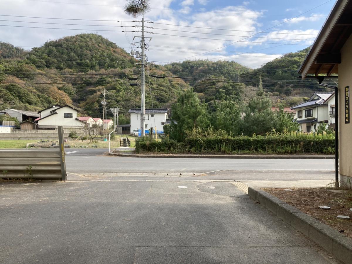 駐車場②入口の反対側