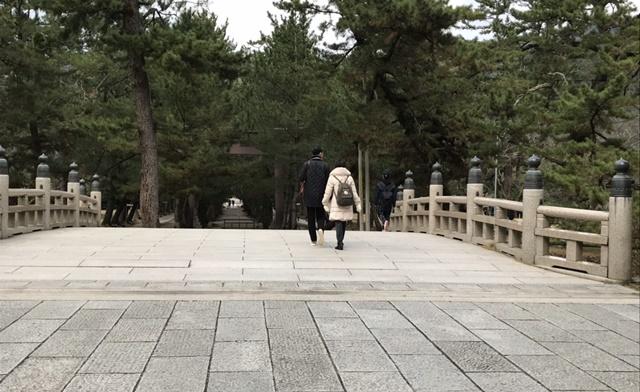 出雲大社 祓橋(はらえのはし)
