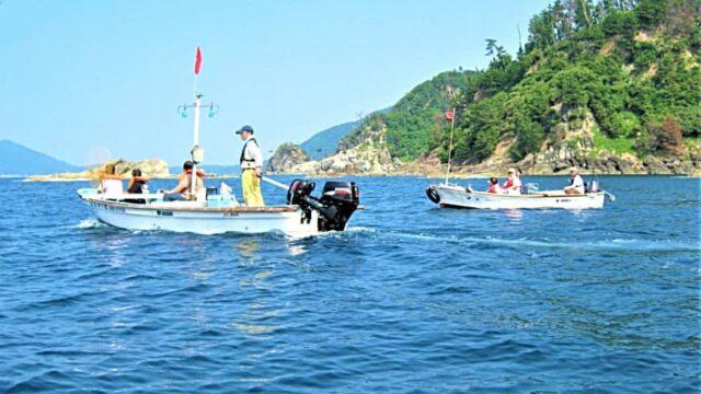 『地元漁師と巡る 鷺浦湾と海岸線クルージング』 バナー