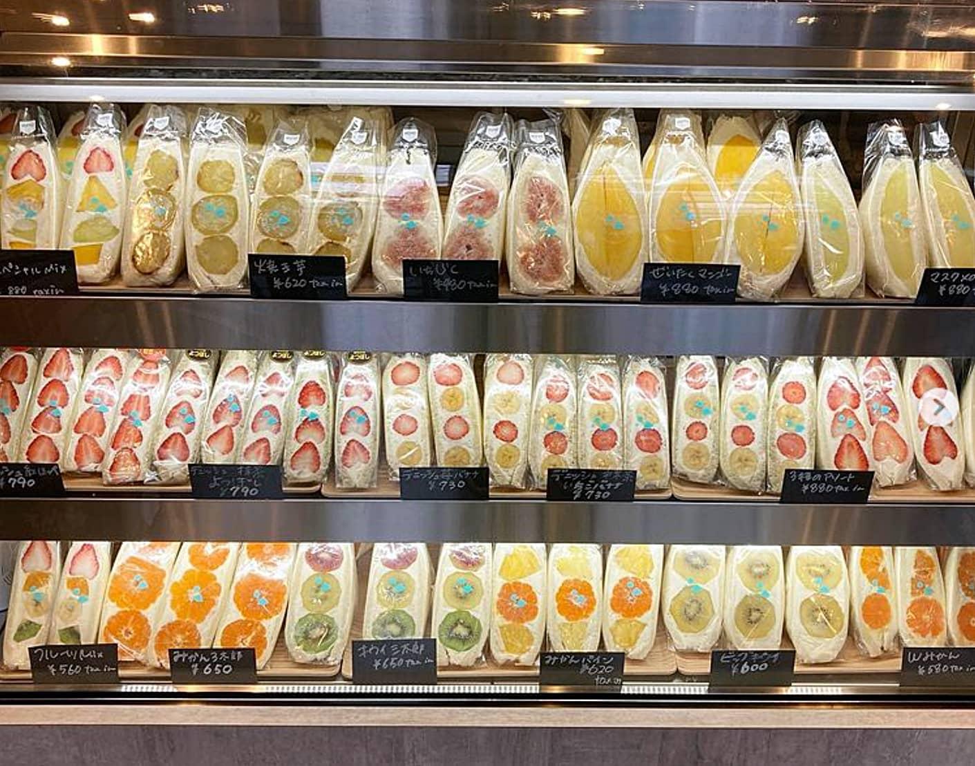 fufufu 渋谷店 フルーツサンド1
