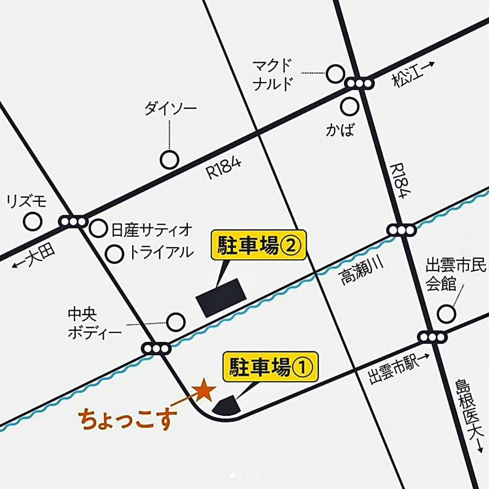ちょっこす 詳細地図