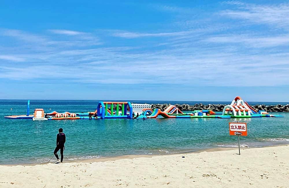石見海浜公園マリンアスレチック 海神 海岸