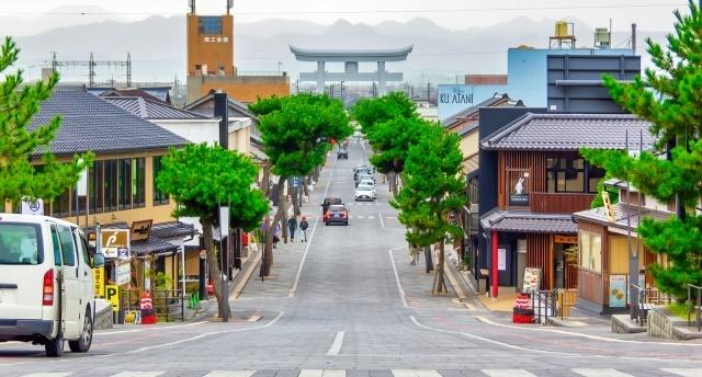神門通り風景